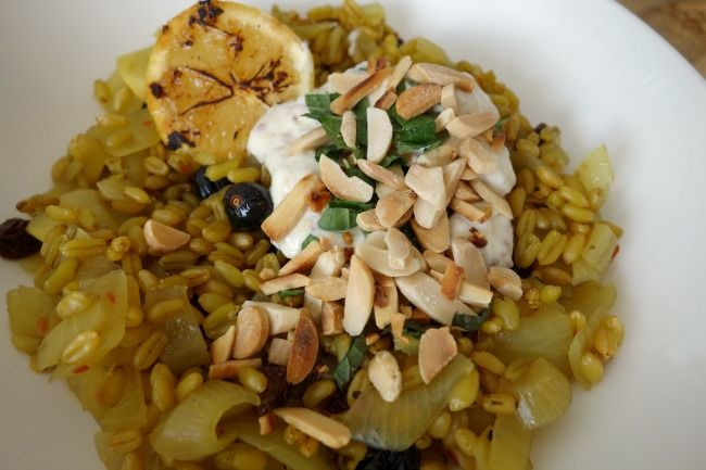 NEW RECIPE: Spiced Moroccan freekah salad: From thelovingcook.com.au: http://bit.ly/1qSuDne