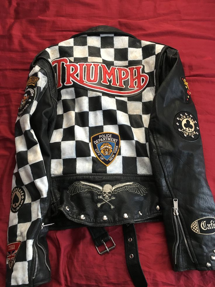 Excited to share the latest addition to my #etsy shop: VTG Men's Custom Motorcycle Jacket Rocker Jacket Club 59 Cafe Racer #club59 #motorcycle #caferacer