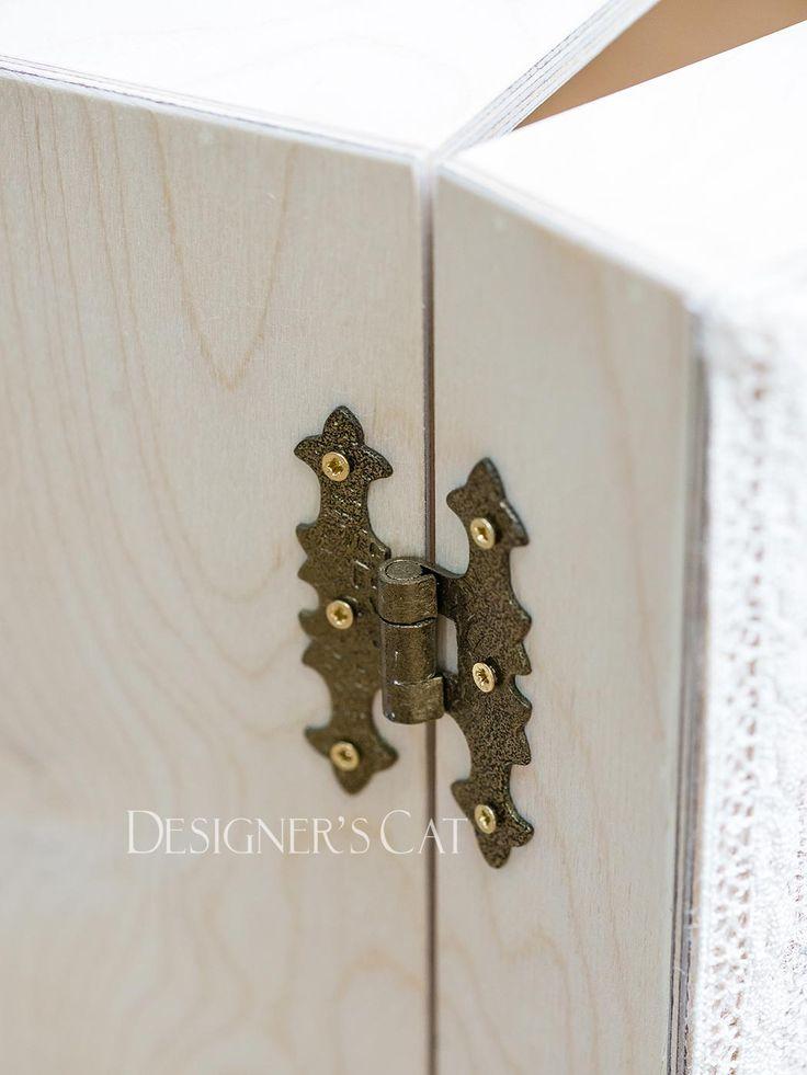des.DRESS #χειροποίητο #κουτίβάπτισης #Handmade #christening #box of natural birch wood #vaptisi #βαπτιση #designerscat