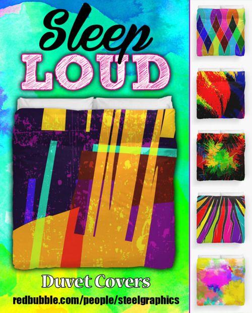 Sleep Loud Duvet Covers