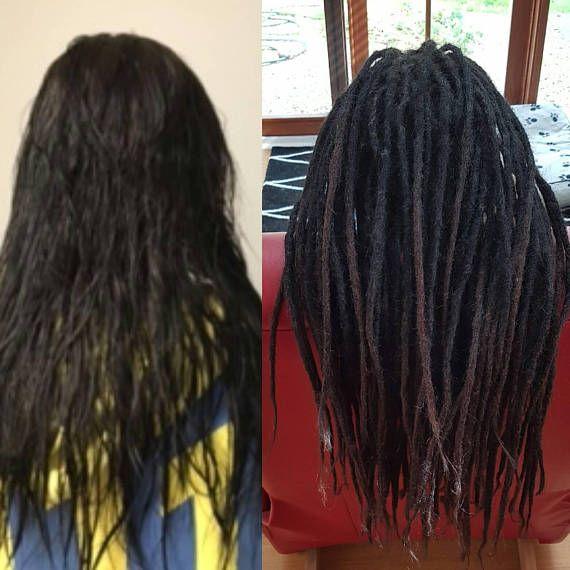 Mer enn 25 bra ideer om human hair dread extensions p pinterest 40 long 16 18 inch very high quality dreadlock extension 100 pmusecretfo Images