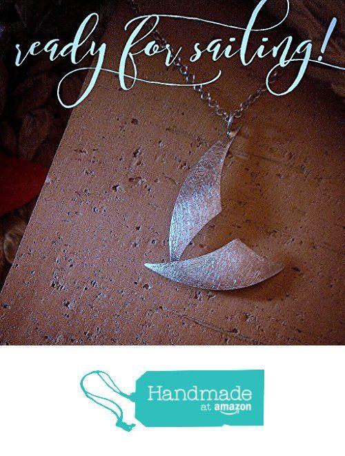 Original colgante alegoría velero. Collar de diseño exclusivo en plata de ley. Pieza única! Cadena de plata incluida en el precio. https://www.amazon.es/dp/B071927F5S/ref=hnd_sw_r_pi_awdo_iWLbzbJ7P4G3J #handmadeatamazon