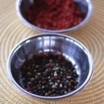 Kumro Korolar Bhortha - Roasted Winter Squash and Bitter Melon Relish