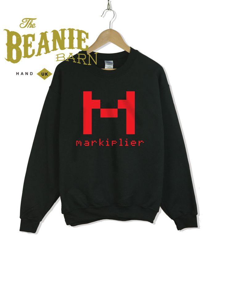 Markiplier Sweatshirt youtube Pewdiepie Gaming Jacksepticeye   eBay