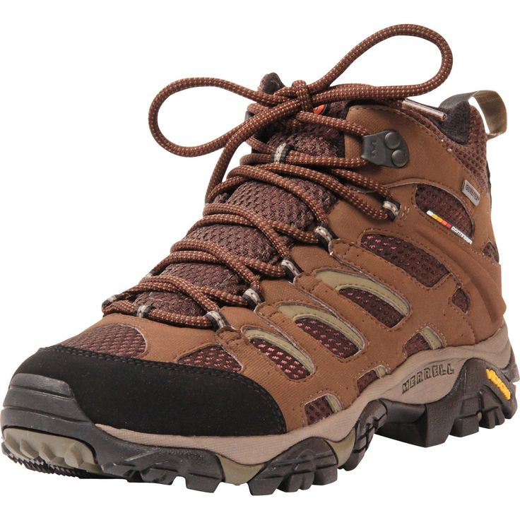 Merrell - Men's Moab Mid Gore - Tex Hiking Boots - Dark Earth