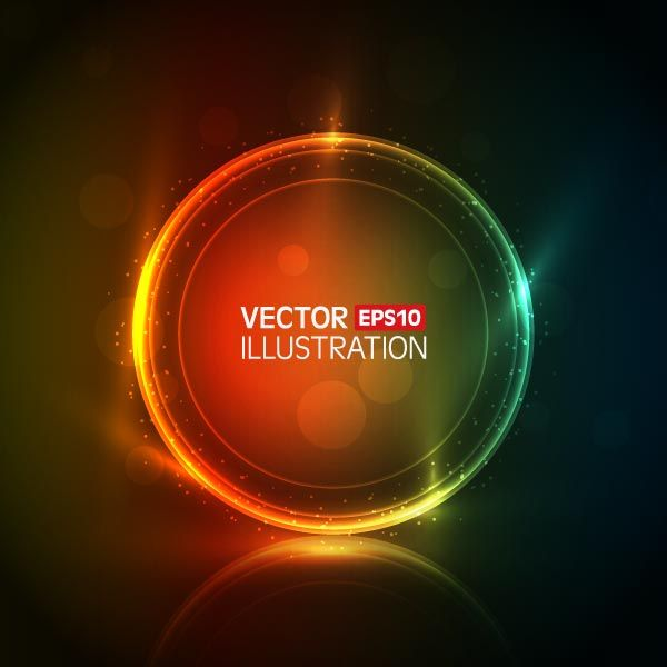 Vector colorful abstract - Free-designs.net