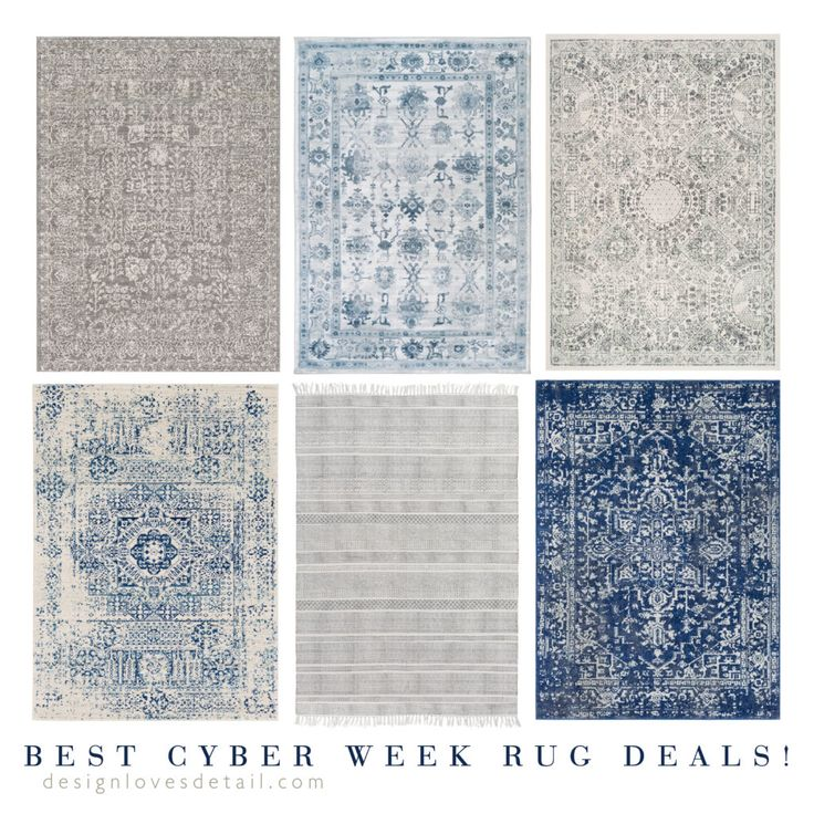 Our favorite rugs for less: Cyber Week Deals!