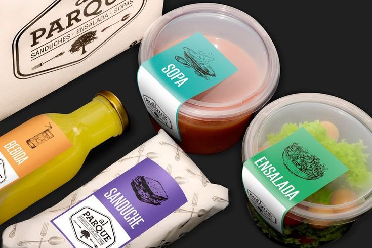 This Sustainable Food Packaging is Perfect for a Picnic #snacks trendhunter.com