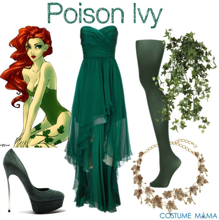 poison ivy fancy dress costume ideas costume mama - Green Halloween Dress