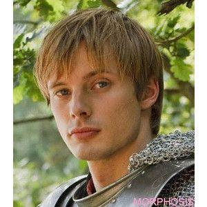 Bradley James as Prince Arthur Pendragon on Merlin