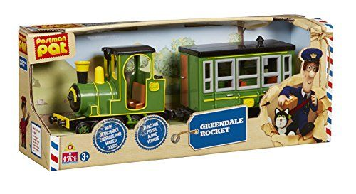 POSTMAN PAT SDS VEHICLE GREENDALE ROCKET TRAIN NEW by Toy...