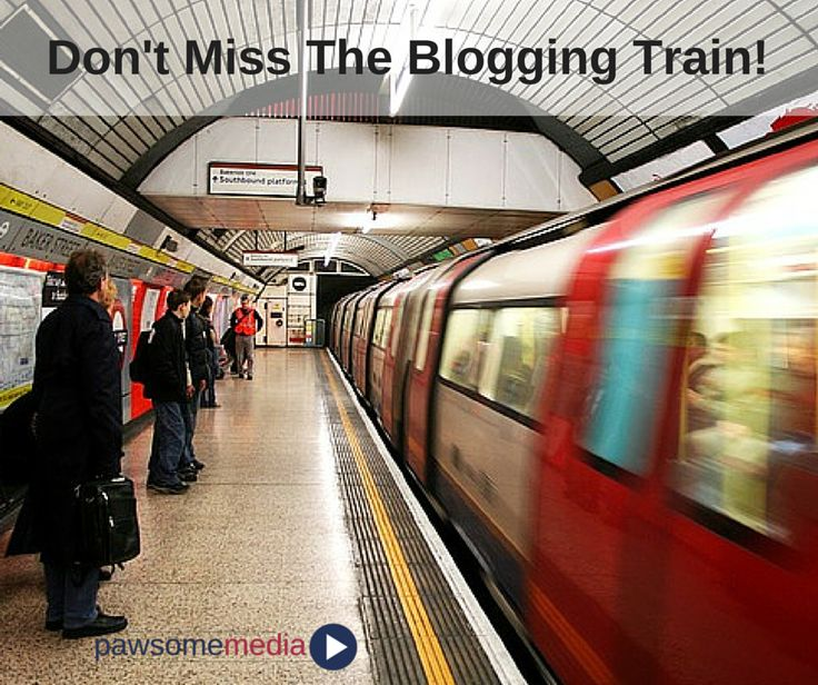 Don't let the competition get one step ahead..get on that blogging train!