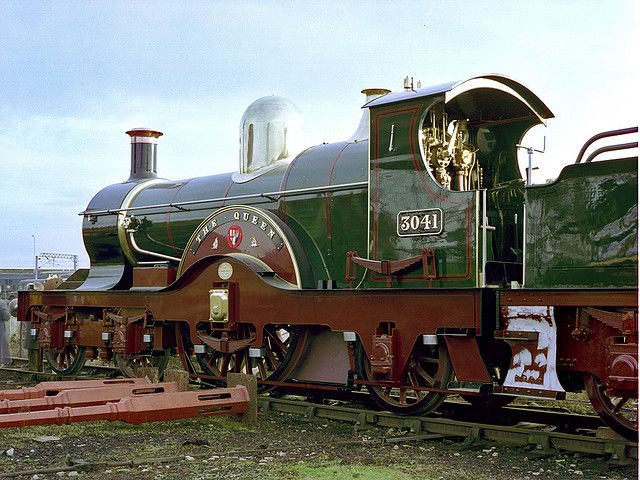 GWR The Queen - William Dean, Swindon