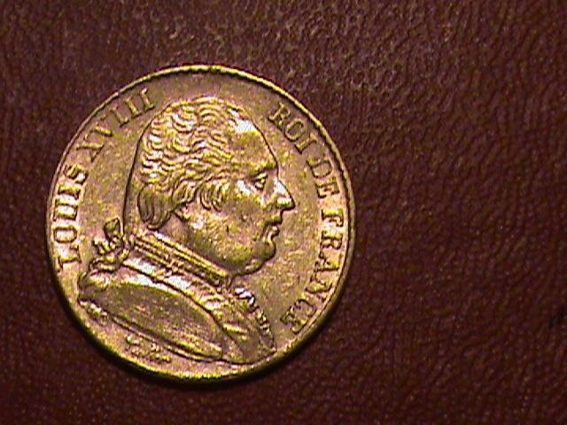 1815 A 20 Franc Gold Coin | eBay