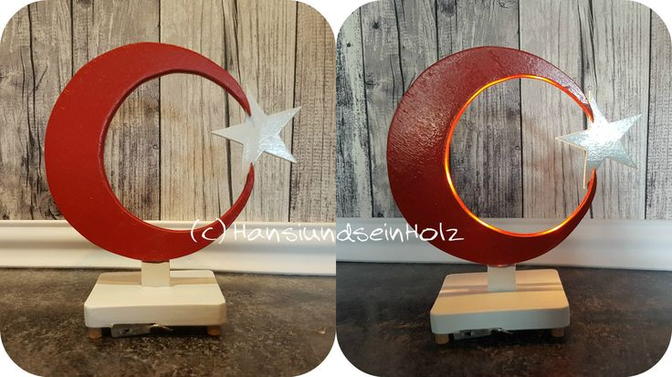 Neues Versuchsobjekt...Die Türkische Fahne als HinStellGuckMichAn Licht mit LED...noch nicht Perfekt aber schaut doch schon fast gut aus oder was meint ihr, vorallem an unsere türkischen Freunde gefragt?!