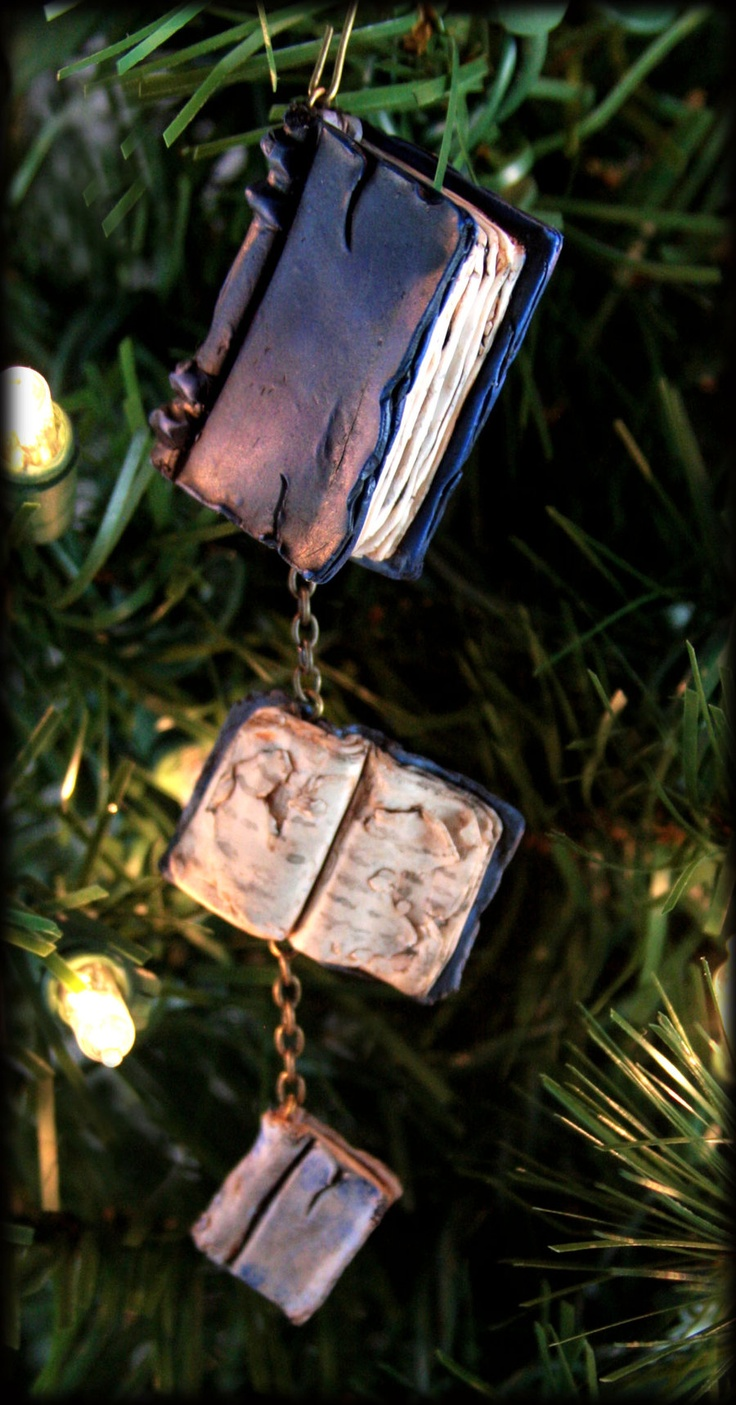 Beloved Book Ornament by Neverland Jewelry