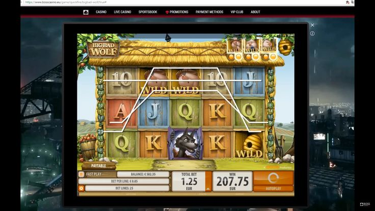 Big Bad Wolf by Microgaming. One of the biggest online slot wins  One another favorite slot of ours is BigBad Wolf by Microgaming. This game has Rolling Reels, where all winning symbols blow out with wolf-breath and a new set of symbols dropping down, giving rise to multiple opportunities for a big win.
