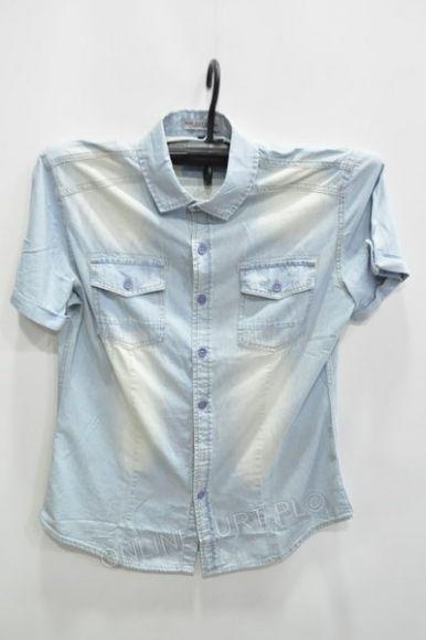 Koszula Męska Jeans TR-8038 Urus Kr.Rękaw  M-3XL