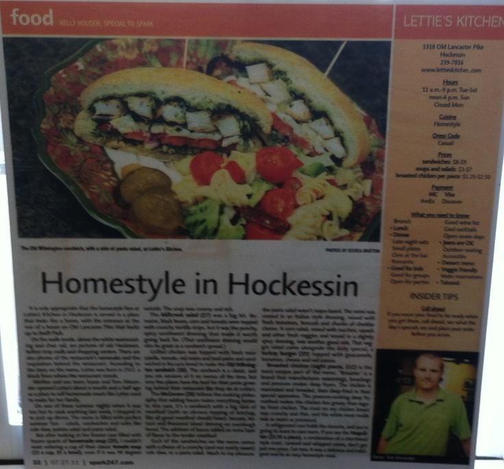 Lettie S Kitchen Hockessin Delaware