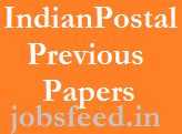 Indian Postal Assistant Previous Question Papers with Answers