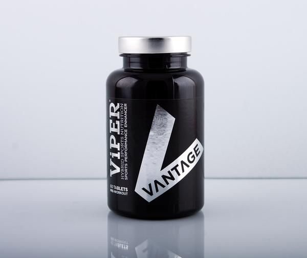 Vantage ViPER®  is a highly advanced PRE-WORKOUT sports performance enhancer. It increases physical power output during short to medium duration, high intensity exercise and is designed to increase blood flow and muscle pump. ViPER® uses research proven ingredients to improve focus, strength, endurance AND recuperation.  PRE-WORKOUT PERFORMANCE AMPLIFIER Having the right nutrient delivery before exercise is essential to make sure your body is primed and ready to go. ViPER® amplifies anabolic
