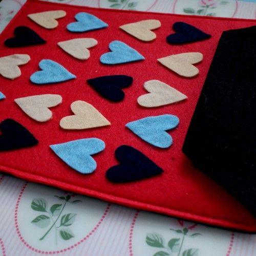 Etui na tablet 10 cali w serca