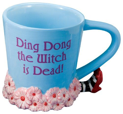 The Wizard of Oz coffee mug!!! It's a must have