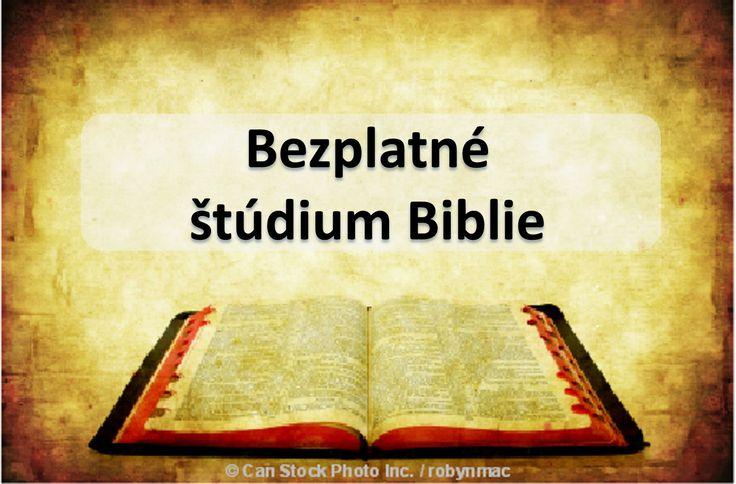 Vyžiadať si vlastné osobné, nie povinnosť, zadarmo Biblie študijný, v čase a mieste vám vyhovuje. Stačí kliknúť na tento odkaz a vyplňte formulár: https://www.jw.org/sk/jehovovi-svedkovia/studium-biblie-zadarmo/ (Request your own personal, no obligation, free Bible study at a time and place convenient for you. Just click on this link and fill out the form.)
