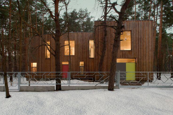 #homify #Holzhaus #Modern #Wald #Natur #Architektur #Haus