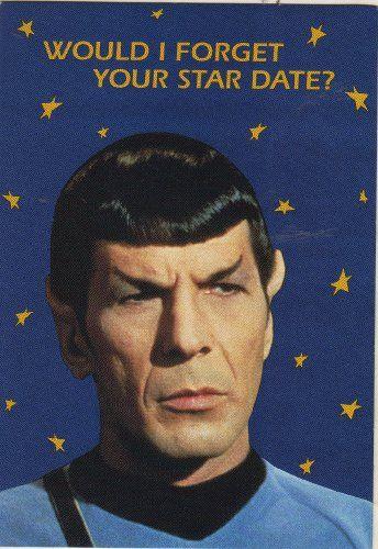 Star Trek Mr Spock Humor Birthday Card picture