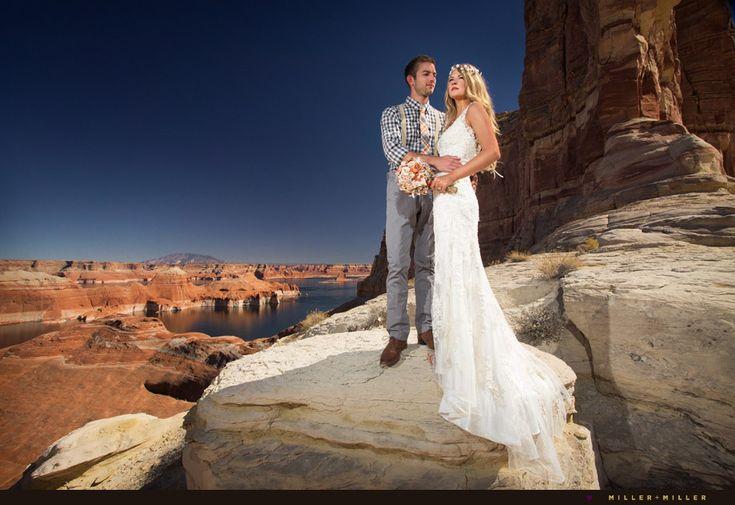 Lake Powell Destination Wedding Weddingdress Lace Bride Reality Utah Pinterest Husband Wife And Chicago