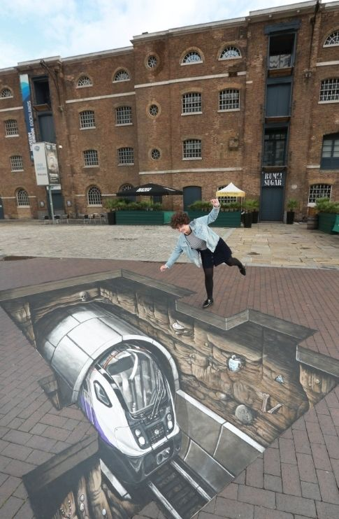 'Crossrail Train' Appears Beneath Street Outside Major London Museum | Londonist