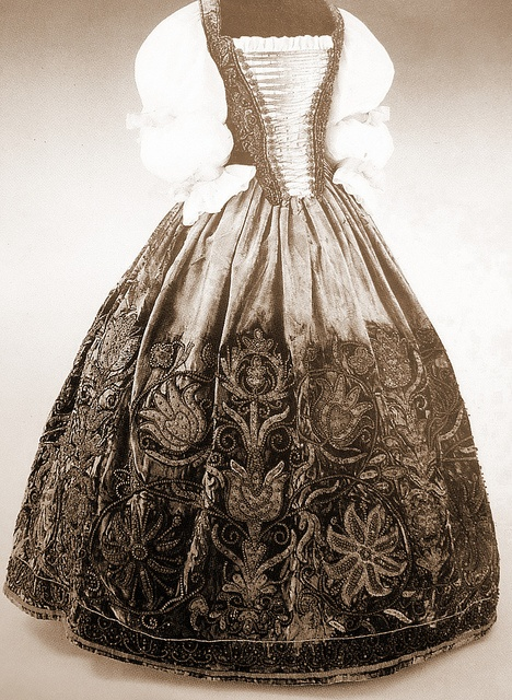 Hungarian clothing in the past  Collection of Museum of Applied Arts in Budapest