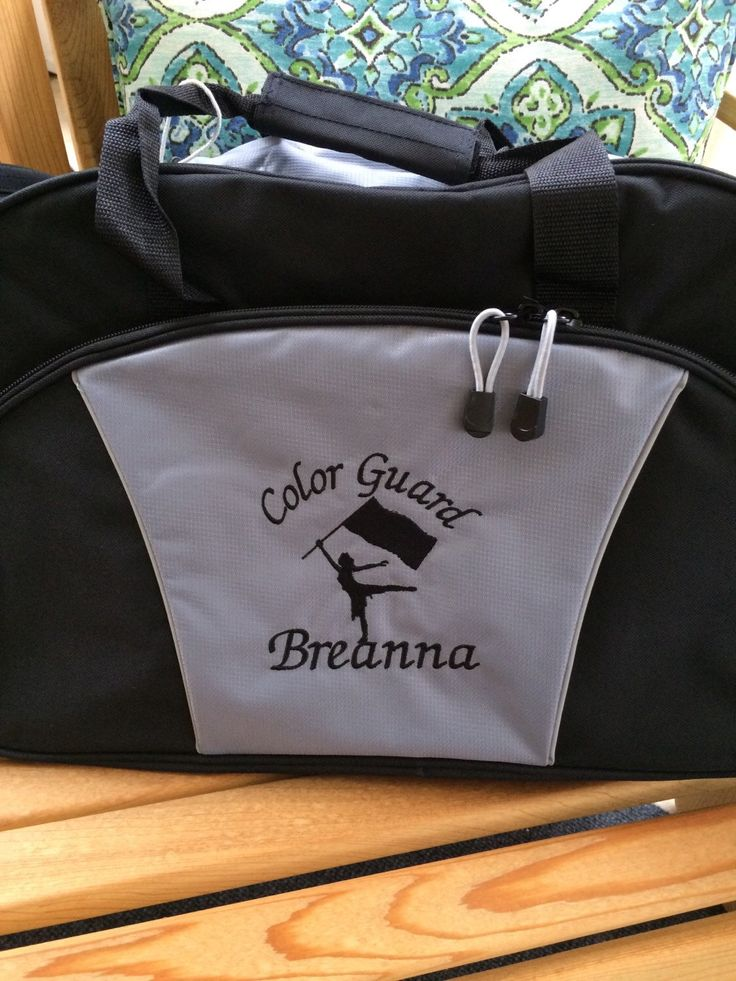 color guard duffle personalized   monogrammed color guard duffel  personalized marching band