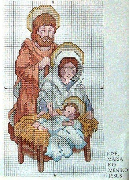 Encontrado en meusgraficosdepontocruz.blogspot.com  ♥Meus Gráficos De Ponto Cruz♥: Natal