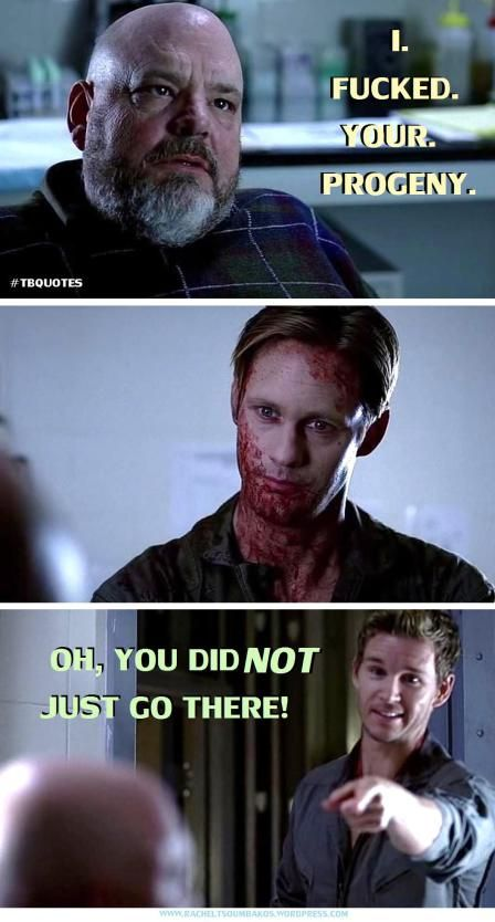 TB S06E09 quote 9 Dr Finn and Jason Stackhouse