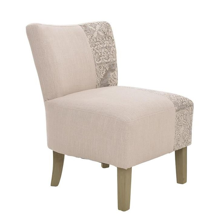 Fabric Low Back Chair - inart