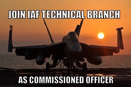 Join IAF as Technical Officer