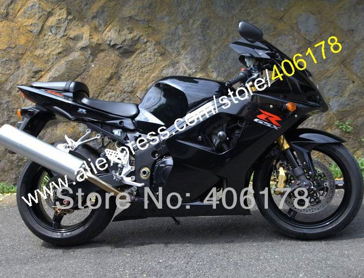 350.55$  Buy now - http://ali0mb.worldwells.pw/go.php?t=1729584117 - Hot Sales,All Black For SUZUKI GSXR1000 Fairing 03 04 K3 GSX R1000 2003 2004 GSXR 1000 K3 fairings for sales (Injection molding)