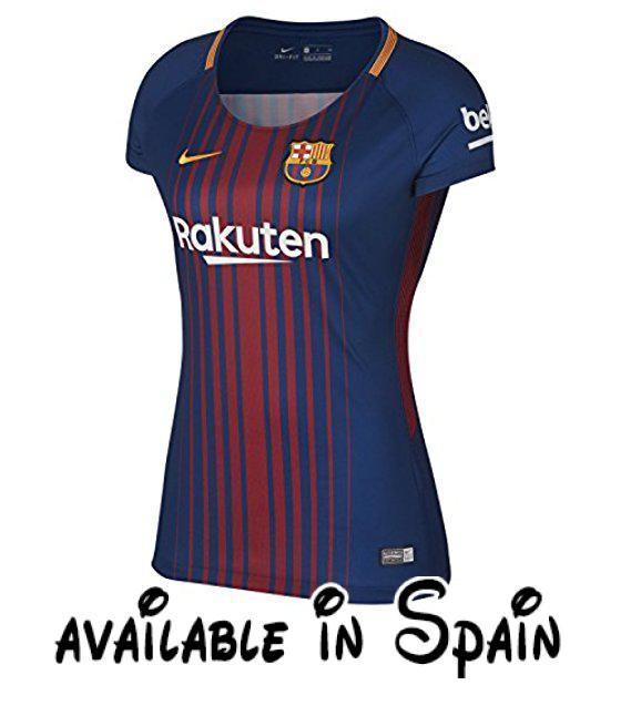 d4f36a05a9a67 B071G24FLB   Nike Dry FC Barcelona BRT Stadium SS HOME Camiseta mujer Dry  FC Barcelona BRT Stadium SS Home deep royal blue university gold extra-la…