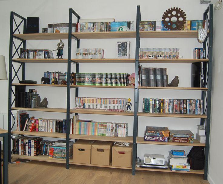 blog de la maison de l 39 imaginarium l 39 ambiance factory 100 sur mesure biblioth que. Black Bedroom Furniture Sets. Home Design Ideas