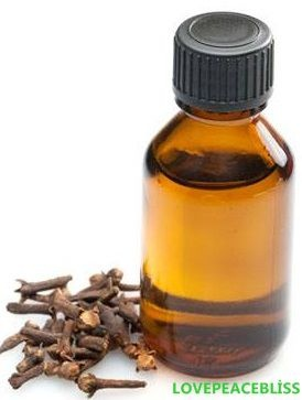 homemade clove oil - for toothache