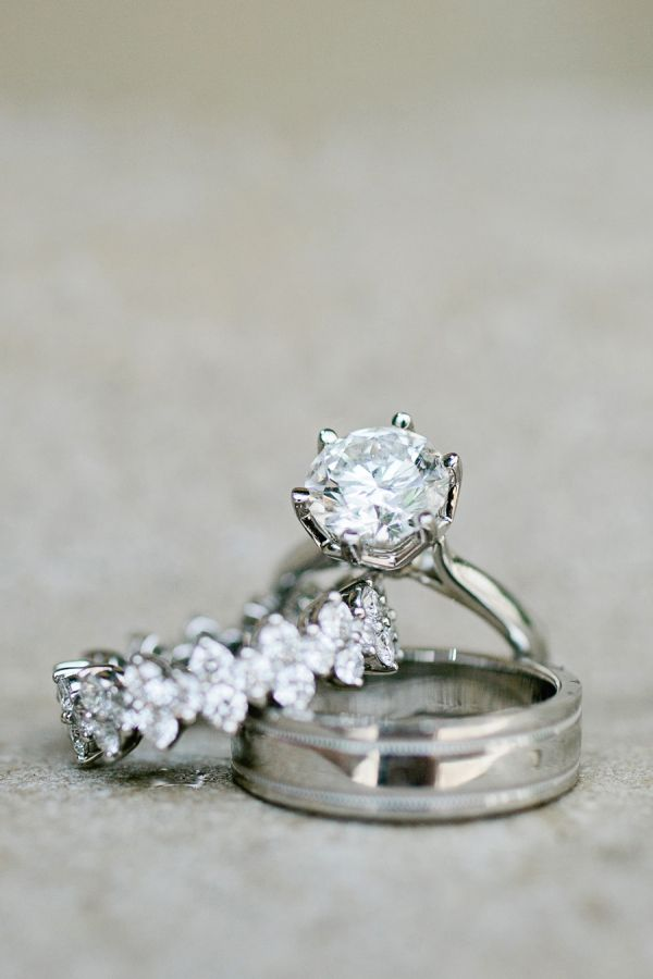 Pretty Wedding Rings | photography by http://www.kristynhogan.com
