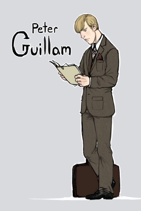 Peter Guillam from Tinker, Tailor, Soldier, Spy