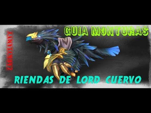 Sala sethekk// guia monturas// riendas de lord cuervo// zarktiam