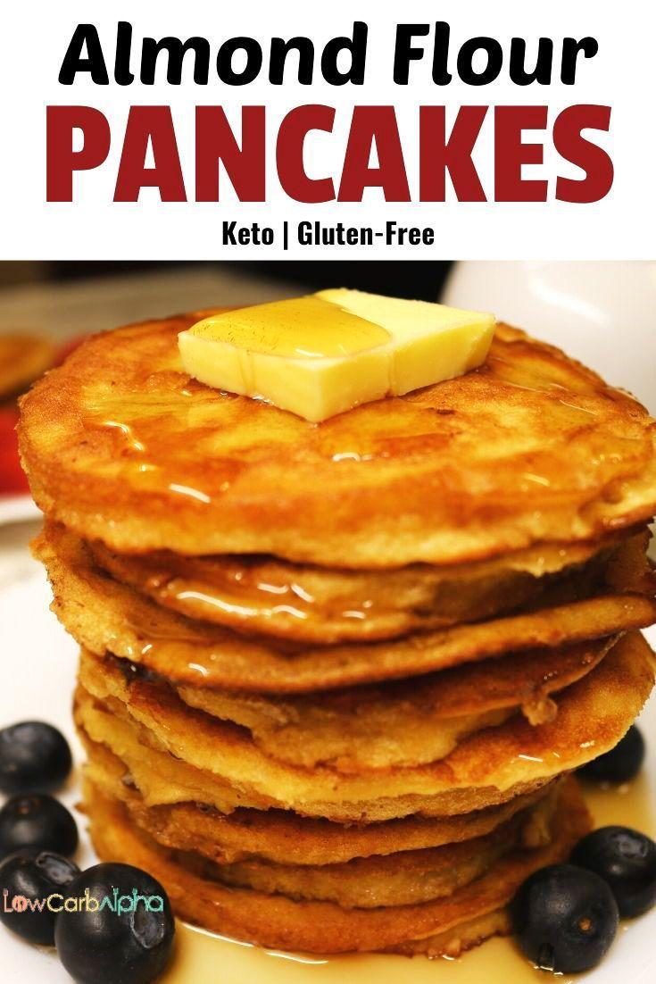 Almond Flour Pancakes Keto Recipe Almond Flour Pancakes Food