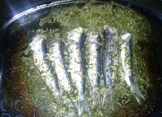 Sardinas asadas al ajo-limon. para #Mycook http://www.mycook.es/cocina/receta/sardinas-asadas-al-ajo-limon