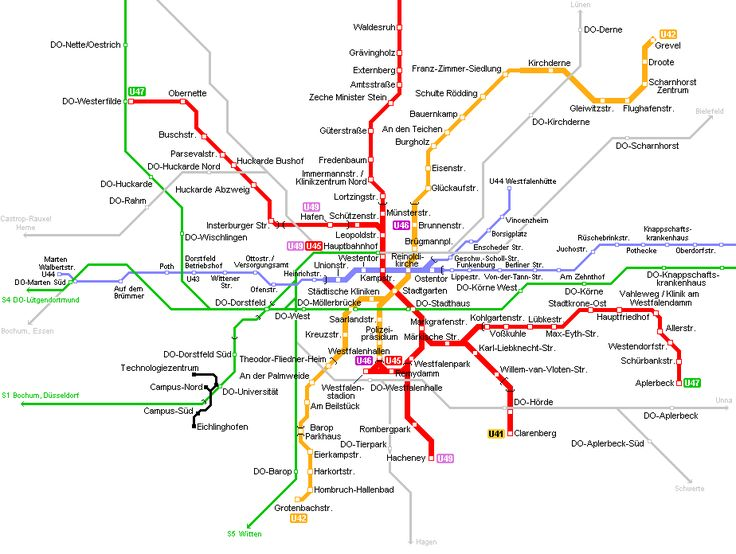 Best Europe Urban Metro Map Images On Pinterest Maps Subway - Germany map dortmund
