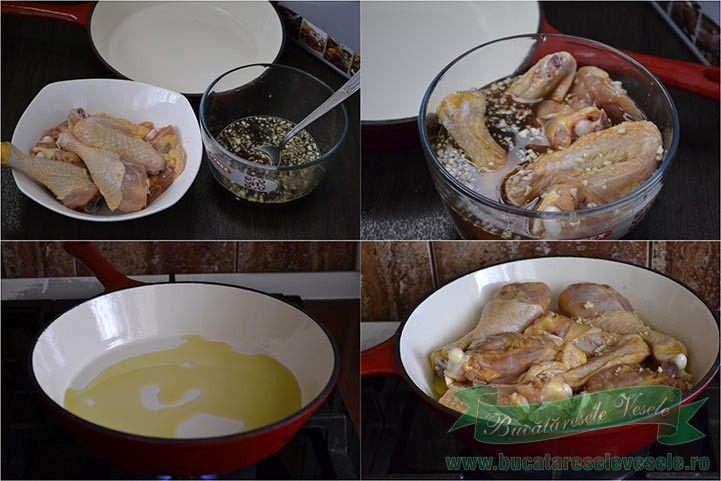 Pui cu lamaie - Retete Culinare - Bucataresele Vesele