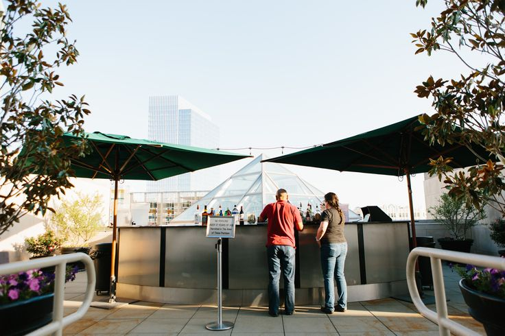 Rooftop Bar at the Oklahoma City Museum of Art | OKCMOA | Roof Terrace | Downtown OKC | Outdoor event venue | Art After 5 | Art Museum Events